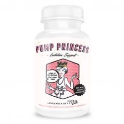 วิตามินสมุนไพรบำรุงน้ำนมสำหรับคุณแม่นักปั๊ม LegendairyMilk PUMP PRINCESS Organic Lactation Blend (180)