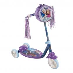 รถสกู๊ตเตอร์สำหรับเด็ก Huffy 3-Wheel Scooter (Frozen)