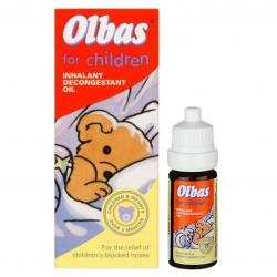 น้ำมันหอมระเหยลดอาการคัดจมูกสำหรับเด็ก Olbas for Children Inhalant Decongestant Oil (10ml.)
