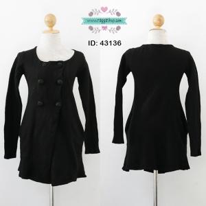 43136 34-32-38 เสื้อกันหนาวสีดำ