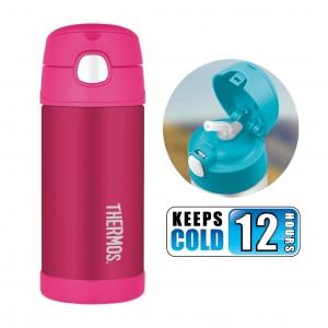 กระติกน้ำสเตนเลสรักษาอุณหภูมิ Thermos FUNtainer Vacuum Insulated Stainless Steel Bottle 12OZ (Pink)