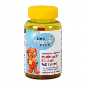 วิตามินรวมชนิดกัมมี่เคี้ยวหนึบสำหรับเด็กและผู้ใหญ่ DM Healthy Plus Multivitamin Bears for Kids