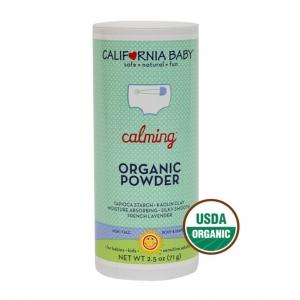 แป้งฝุ่นสำหรับทารกและเด็กเล็กชนิดปลอดสารพิษ CALIFORNIA BABY Calming Organic Powder
