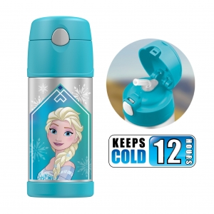 กระติกน้ำสเตนเลสรักษาอุณหภูมิ Thermos FUNtainer Vacuum Insulated Stainless Steel Bottle 12OZ (Frozen Aqua)