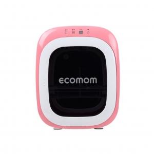 ตู้อบแห้งกำจัดเชื้อโรคด้วยรังสียูวี ecomom รุ่น UV Sterilizer and Dryer with ANION (Pink)