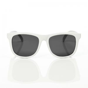 แว่นกันแดดสำหรับเด็ก Mustachifier Polarized Baby Opticals (White)
