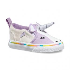 รองเท้าผ้าใบสำหรับเด็ก VANS Toddler Asher V Unicorn