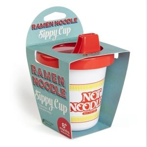 แก้วหัดดื่มทรงถ้วยบะหมี่สุดน่ารัก GAMAGO Remen Noodle Sippy Cup