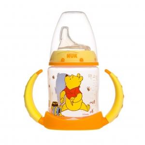 ถ้วยหัดดื่มปลอดสารพิษ Nuk 5-oz Learner Cup, Silicone Spout, BPA Free (Winnie the Pooh)