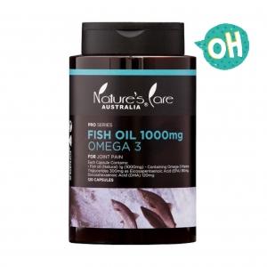 น้ำมันปลาเสริมแร่ธาตุโอเมก้า 3 จากธรรมชาติ Nature's Care Australia รุ่น PRO SERIES - Fish Oil 100mg OMEGA 3