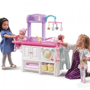ชุดเนอสเซอรี่ดูแลเบบี๋ยอดฮิต Step2 Love & Care Deluxe Nursery