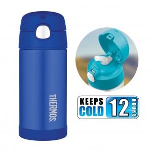 กระติกน้ำสเตนเลสรักษาอุณหภูมิ Thermos FUNtainer Vacuum Insulated Stainless Steel Bottle 12OZ (Blue)