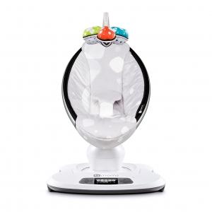 เปลไกวสวิงอัตโนมัติสุดอัจฉริยะ 4moms mamaRoo Bouncer (Silver Plush)