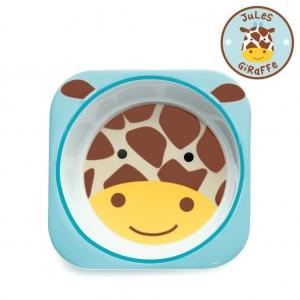 ชามอาหารสำหรับเด็ก Skip Hop รุ่น Zoo Bowls (Giraffe)