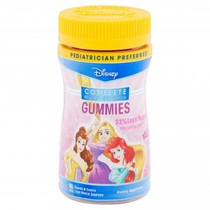 วิตามินรวมชนิดเคี้ยวหนึบสำหรับเด็ก NatureSmart Disney Princess Complete Multi-Vitamin Gummies