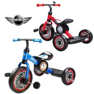 """จักรยานสามล้อ Mini Cooper Mini Cooper 10"""" Tricycle Bike for Children"""