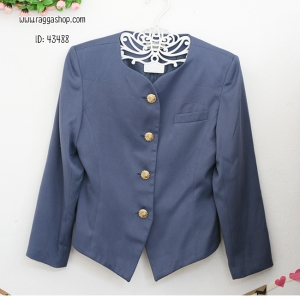 43488 size38 เสื้อสูทสีน้ำเงิน (ID 6925 จองคะ)