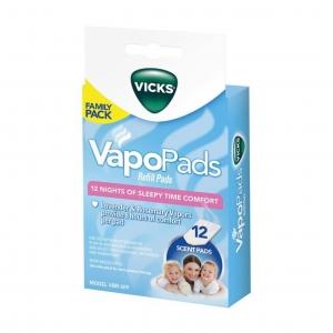 น้ำยารีฟิลชนิดแผ่น Vicks VapoPads (Family Pack)