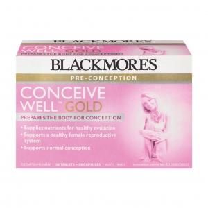 วิตามินเตรียมความพร้อมสำหรับการตั้งครรภ์ BLACKMORES Pre-Conception - Conceive Well Gold