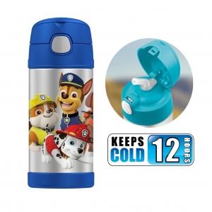 กระติกน้ำสเตนเลสรักษาอุณหภูมิ Thermos FUNtainer Vacuum Insulated Stainless Steel Bottle 12OZ (Paw Patrol2)