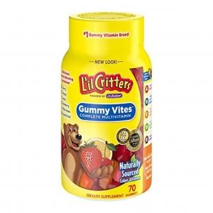 วิตามินรวมแบบกัมมี่เคี้ยวหนึบสำหรับเด็ก L'il Critters Gummy Vites Complete Multivitamin