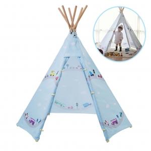 บ้านจำลองทรงเต๊นท์อินเดียนแดงสำหรับเด็ก LOOKA Tent (Little Journey)