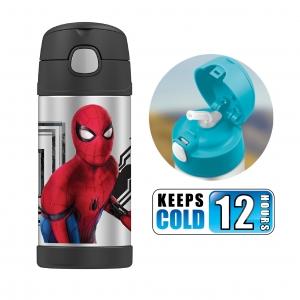 กระติกน้ำสเตนเลสรักษาอุณหภูมิ Thermos FUNtainer Vacuum Insulated Stainless Steel Bottle 12OZ (Spider Man: Homecoming)