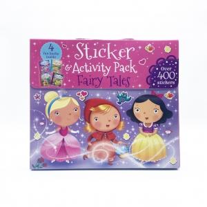 ชุดกระเป๋ากิจกรรมสำหรับเจ้าหญิงตัวน้อย Sticker & Activity Pack - Fairy Tales