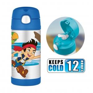 กระติกน้ำสเตนเลสรักษาอุณหภูมิ Thermos FUNtainer Vacuum Insulated Stainless Steel Bottle 12OZ (Captain Jake and the Neverland Pirates)