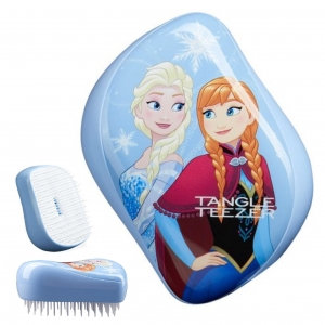 หวีมหัศจรรย์ Tangle Teezer On-The-Go Compact Styler Detangling Hairbrush (Disney Frozen Limited Edition)