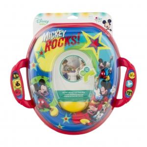 อุปกรณ์รองนั่งชักโครกสำหรับเด็ก The First Years Soft Potty Seat (Mickey Mouse)