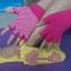 ถุงมือ ถุงเท้าโยคะ กันลื่น YKSM30-2