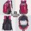 NL06 กระเป๋าเดินทาง สีชมพู ขนาดจุสัมภาระ 28 ลิตร thumbnail 2