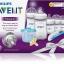 ชุดขวดนมพร้อมถ้วยตวงนมและอุปกรณ์ทำความสะอาด Philips AVENT Newborn Starter Gift Set - Natural thumbnail 2