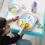 จานอาหารแบ่ง 2 ช่องสำหรับเด็ก Skip Hop รุ่น Zoo Plate (Unicorn) thumbnail 3