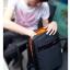NB04 กระเป๋าทำงาน กระเป๋าโน๊ตบุ๊ค สีดำ thumbnail 6