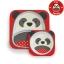 จานและชามบรรจุอาหารสุดน่ารัก Skip Hop รุ่น Zoo Melamine Set (Panda) thumbnail 1