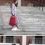 NB05 กระเป๋าทำงาน กระเป๋าโน๊ตบุ๊ค สีแดง ขนาด 28.5 ลิตร thumbnail 8