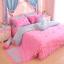 ชุดผ้าปูที่นอนเจ้าหญิง ลูกไม้ SD3009-6 ขนาด 6 ฟุต