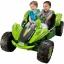 รถแบตเตอรี่ ATV คันยักษ์แบบ 2 ที่นั่ง Fisher-Price Power Wheels Dune Racer Extreme 12-Volt Battery-Powered Ride-On (Monster Green) thumbnail 1