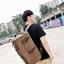 TR01 กระเป๋าทรงกระบอกใหญ่ แคนวาส สีดำ thumbnail 9