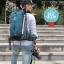 NL22 กระเป๋าเดินทาง Pentagram สีน้ำเงิน ขนาดจุสัมภาระ 50 ลิตร (เสริมโครง) thumbnail 33
