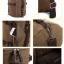 TR01 กระเป๋าทรงกระบอกใหญ่ แคนวาส สีดำ thumbnail 13