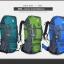 DF03 กระเป๋าเดินทาง สีเขียว ขนาดจุสัมภาระ 80+5 ลิตร thumbnail 7