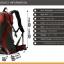 NL22 กระเป๋าเดินทาง Pentagram สีดำ ขนาดจุสัมภาระ 50 ลิตร (เสริมโครง) thumbnail 9