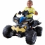 รถแบทแมน ATV แบตเตอรี่ Fisher-Price Power Wheels Kawasaki Batman 12V thumbnail 1