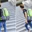 NL01 กระเป๋าเดินทาง สีเขียว ขนาดจุสัมภาระ 40 ลิตร thumbnail 7