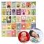 การ์ดไมล์สโตนอายุและพัฒนาการของลูกน้อย TimberRain Baby Milestone Card Set - Unique & Memorable thumbnail 1