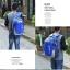 NL06 กระเป๋าเดินทาง สีฟ้า ขนาดจุสัมภาระ 28 ลิตร thumbnail 34