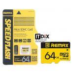 Micro SD Card Remax Class 10 ความจุ 64 GB